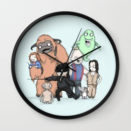 Retro Childhood Wall Clock