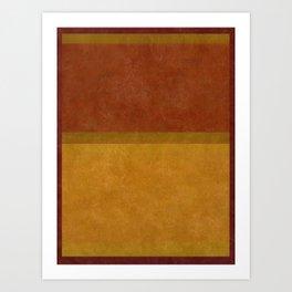 Imagining Rothko #19 Art Print