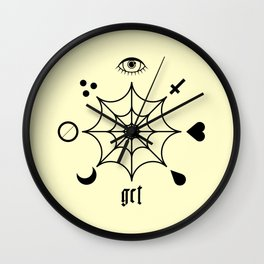 GCT Yellow Wall Clock