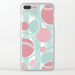 Dot designs . Clear iPhone Case