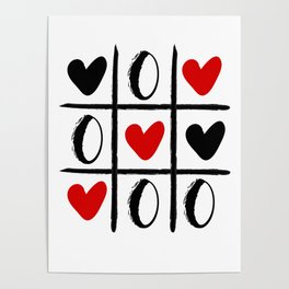 XO LOVE HEART SPECIAL - Valentines Day Poster
