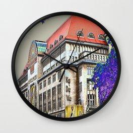 Shopping in Berlin Wall Clock