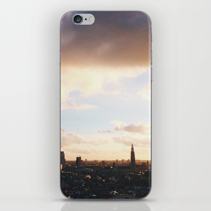 City Sunset & Skyscrapers iPhone Skin