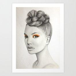 mandarina Art Print