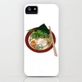 Soy Ramen Noodle iPhone Case