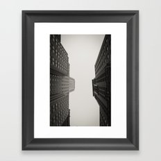 Race to the Sky Framed Art Print