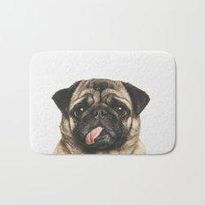 Cheeky Pug Bath Mat