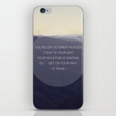 You're off to great places ... iPhone & iPod Skin