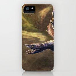 Microraptor Gui Restored iPhone Case