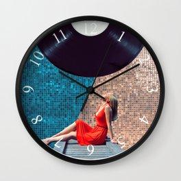 Stereo Wall Clock