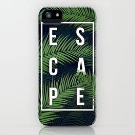 Tropical Escape iPhone Case
