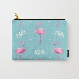 Sweet Flamingo Pattern. Carry-All Pouch
