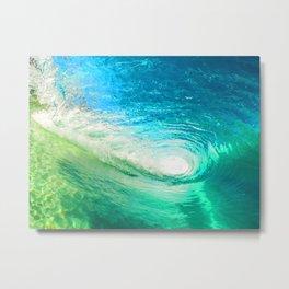 Surf Wave Metal Print