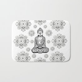 Buddha,HOME DECOR, 2,Graphic Design,Home Decor,iPhone skin,iPhone case,Laptop sleeve,Pillows,Bed,Art Bath Mat