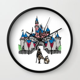 The Happiest Rey on Earth Wall Clock