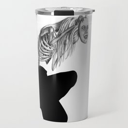 when masks fall Travel Mug