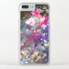 galaxy611 Clear iPhone Case