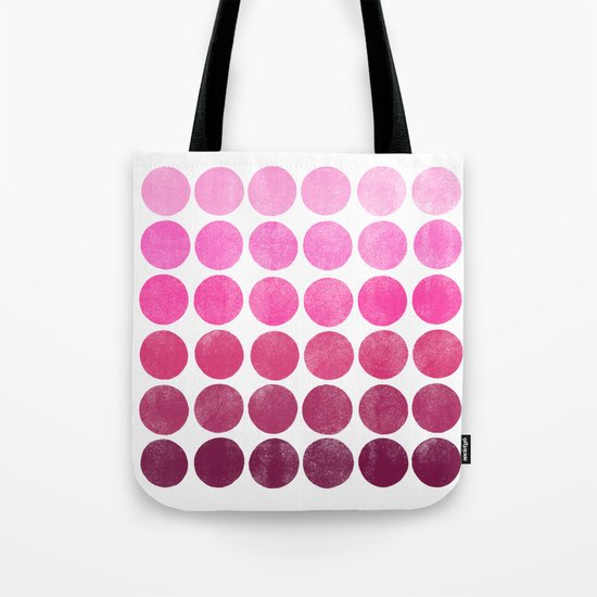 Color Play Pink Tote Bag