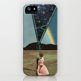 The invisible beauty iPhone Case
