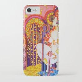 Red Head Klimt iPhone Case