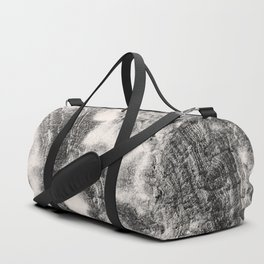 Marble Flow - Black & Cream Duffle Bag