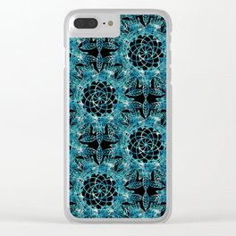 Cosmic Dreamcatchers Clear iPhone Case
