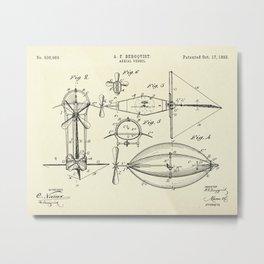Aerial Vessel-1893 Metal Print