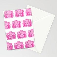 I Still Shoot Film Holga Logo - Pink Stationery Cards