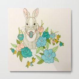Hopping Around Metal Print