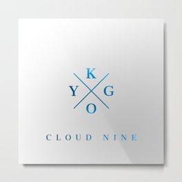 Kygo Cloud Nine Metal Print