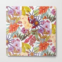 Flowerpower Metal Print