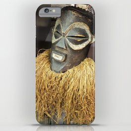 African Mask #2 iPhone Case