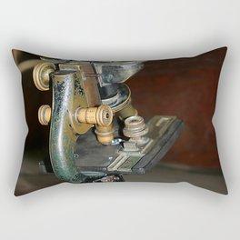 Old Microscope Rectangular Pillow