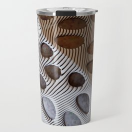 Zebra Mesh Travel Mug