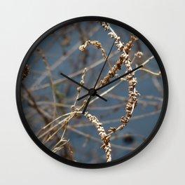 Lake Weed Wall Clock