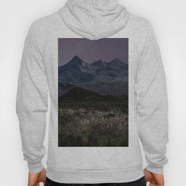 Mountains of Scotland at evening Hoody