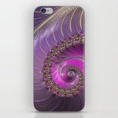 Pink And Purple iPhone & iPod Skin