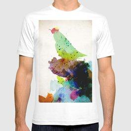 Bird standing on a tree T-shirt