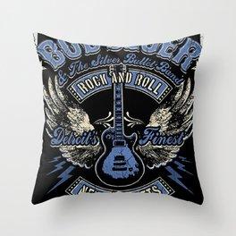 bob seger tour 2020 ansel3 Throw Pillow