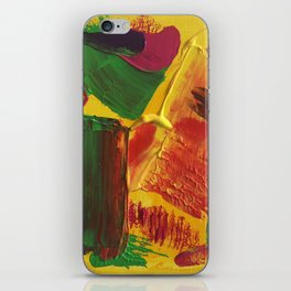 "Abstract ""Hot Summer"" iPhone Skin"
