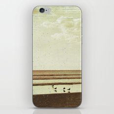 Beach #1 - Lonely beach with seagulls iPhone & iPod Skin