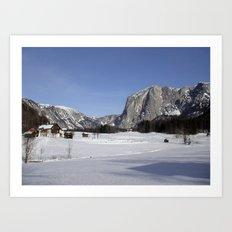 Altaussee Landscape Art Print