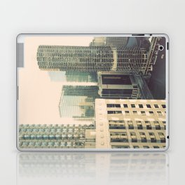 Chicago River Marina Tower Color Photo Laptop & iPad Skin