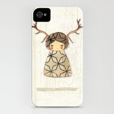 Deer paperdolls Slim Case iPhone (4, 4s)