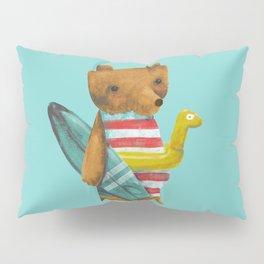 Summer Bear Pillow Sham