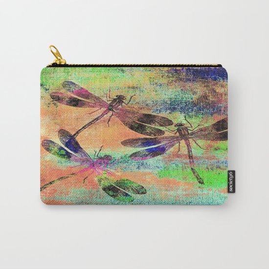 Mauritius Vintage Dragonflies Colours C Carry-All Pouch