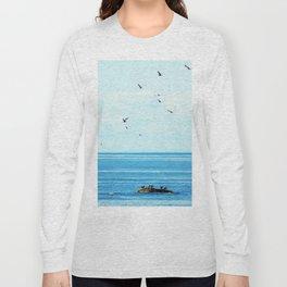 Birds of Summer Long Sleeve T-shirt