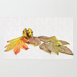autumn feelings Rug