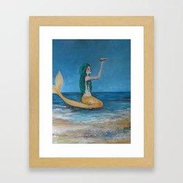 Mystical  Mermaid  Framed Art Print