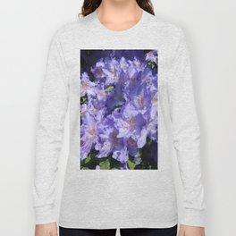 Indigo Azaleas Long Sleeve T-shirt